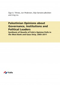 Palestinian Opinions about Governance, Institutions and Political Leaders