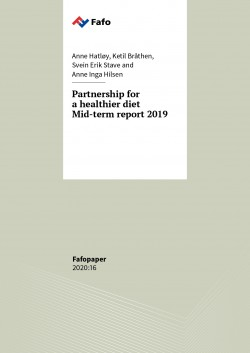 Partnership for a healthier diet – mid-term report 2019