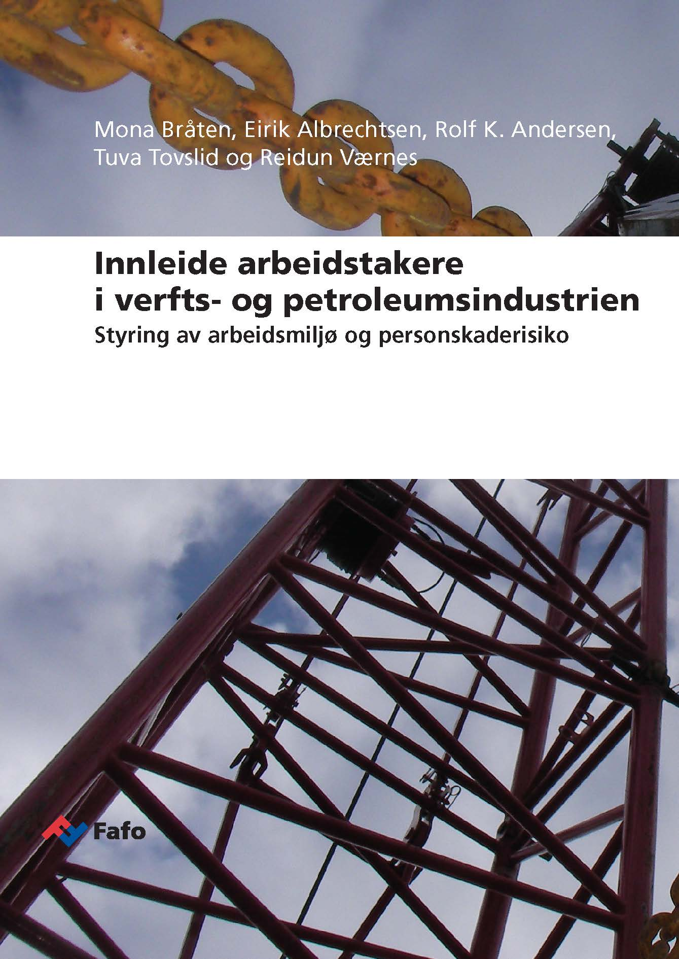 New Fafo report on contract workers in shipbuillding and petroleum industries