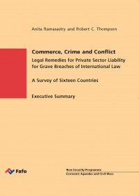 Commerce, Crime and Conflict