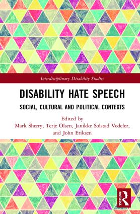 An important contribution to our understanding of hate speech against disabled persons